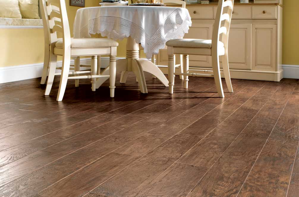 Karndean for Flooring ideas for kitchen and dining room