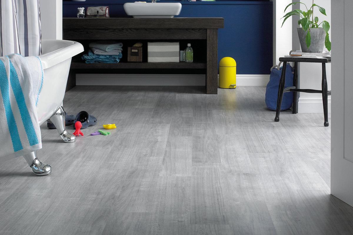 Knight tile vinyl flooring
